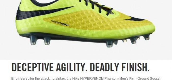 Nike Clearance Event – Check Out the Hypervenom!
