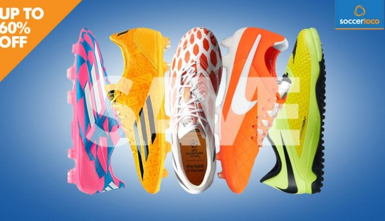 How to Take an Extra 20% Off Clearance Boots at SoccerLoco!