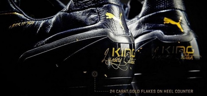 Puma King Lux – A Boot Made With 24 Carat Gold?