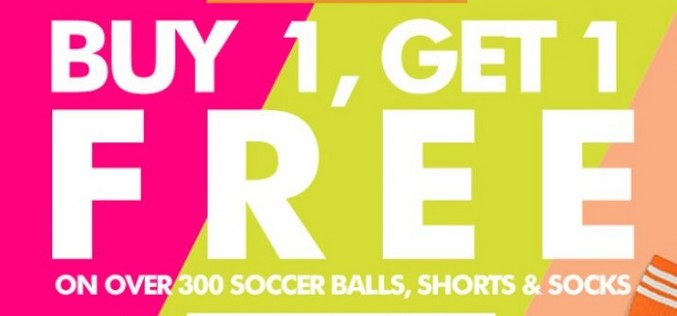 SoccerLoco's Biggest Buy 1, Get 1 Sale Ever!