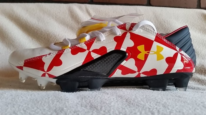 Bet you didn't know that Under Armour did a custom edition of the Blur Carbon III strictly for the University of Maryland!