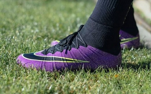 The Sophisticated Nike Superfly Ultraviolet with Gala Glimmer Effect!