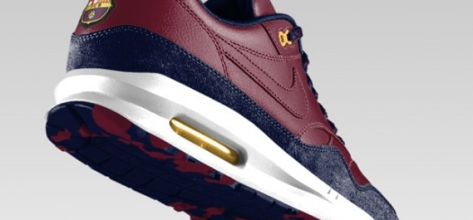 Barcelona and PSG Fans Get NikeID Air Max 1 Option