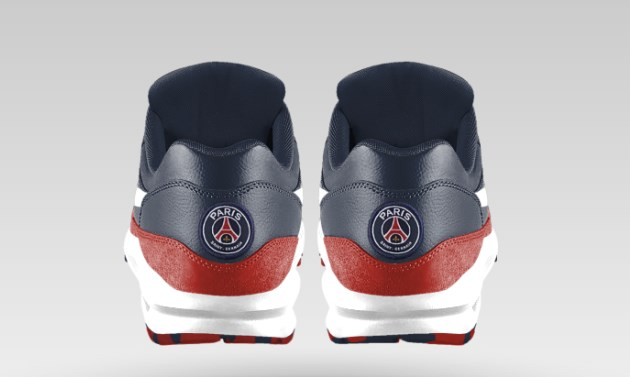Hommes nike id psg air max 1 Soccer Cleats 101