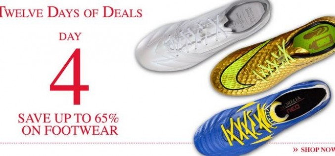 12 Days of Deals, Day 4 – 65% Off Amazing Footwear