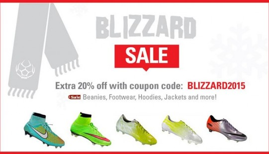 The Great WeGotSoccer Blizzard Sale (With $90 Vapors!)