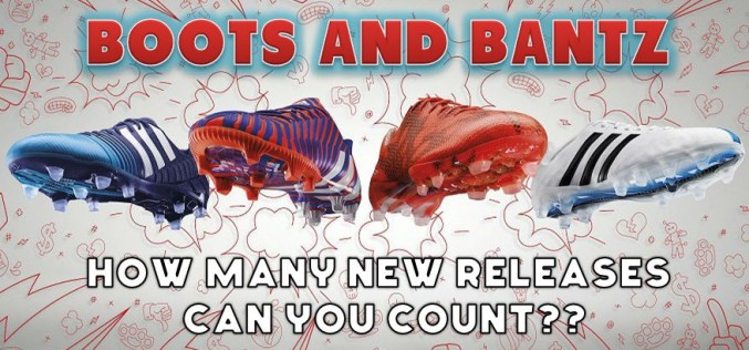 A Lot Of New Boots Have Been Released in the Past Week!