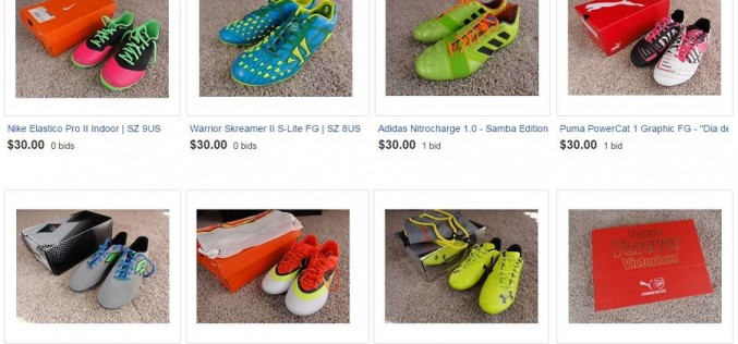 Latest eBay Sell Off Event – Boots + Jerseys!