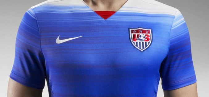 Nike Unleash Fresh New 2015 US Away Kit