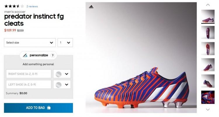 Adidas Pred Deal