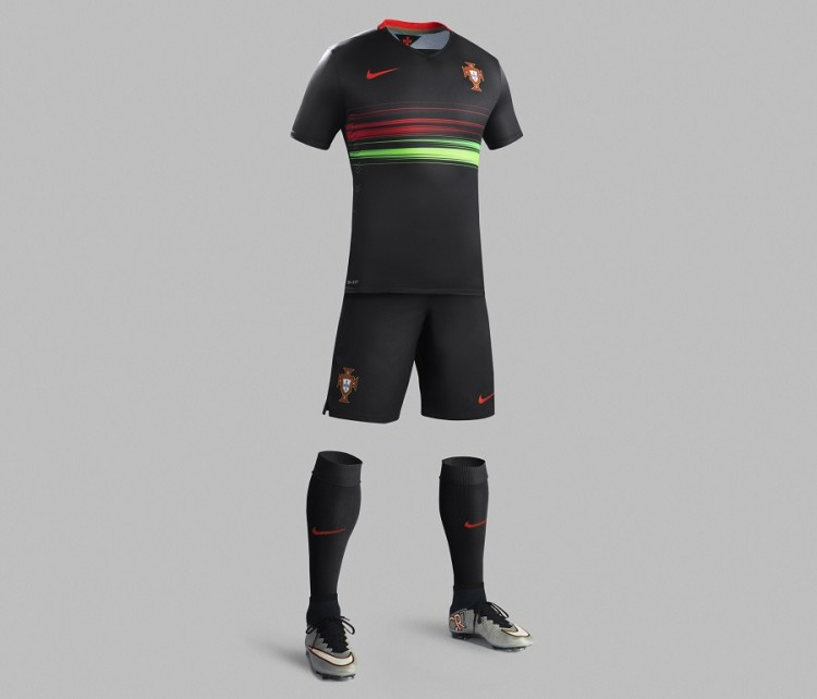 Full Body Portugal Away Kit 2015