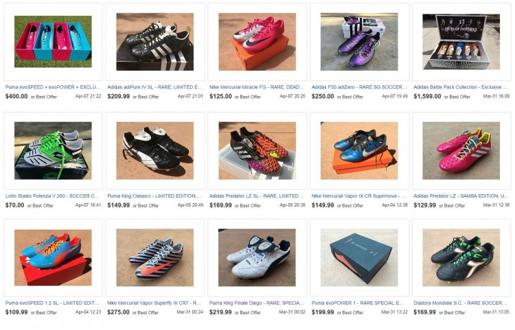 Prime Boot Collection Listings