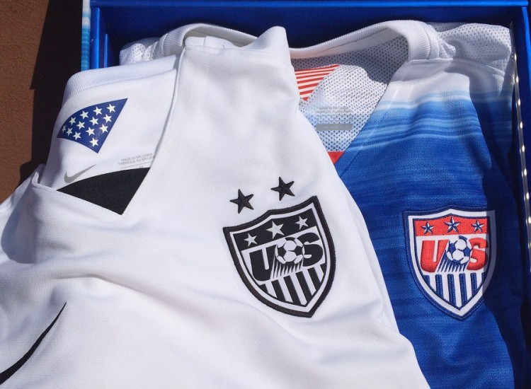US Mens and Womens Jersey 2015