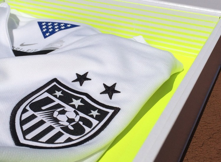 US Womens Kit 2015 Detailing
