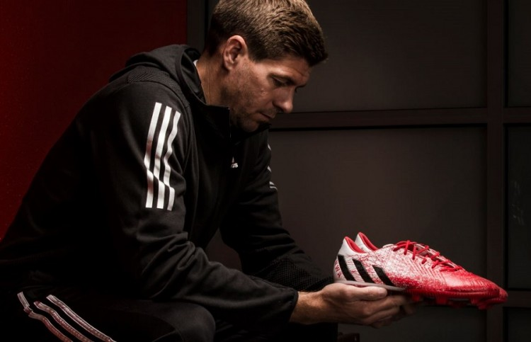 Gerrard With Custom Predator Instinct
