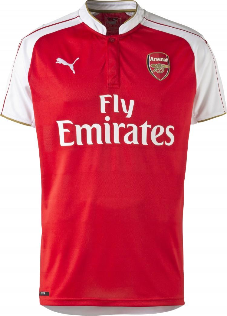 PUMA 2015-16 Arsenal Home Replica Shirt_Front