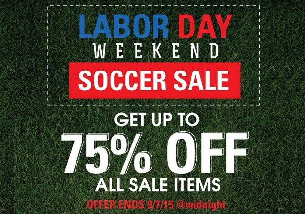 WGS Labor Day Sale
