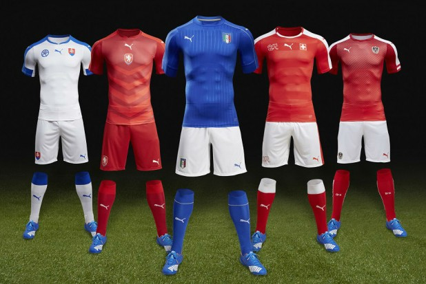 Puma Jerseys Euro 2016