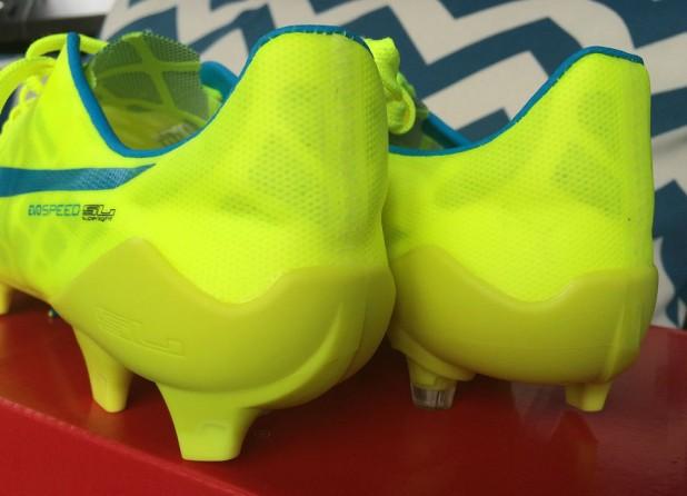 evoSPEED SL Safety Yellow Heel Design