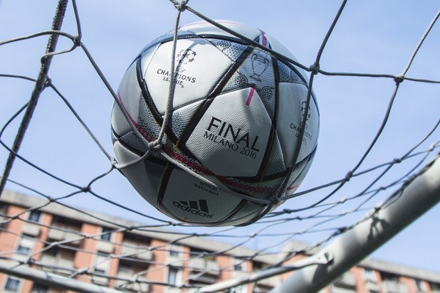 adidas Finale Milano in the Net