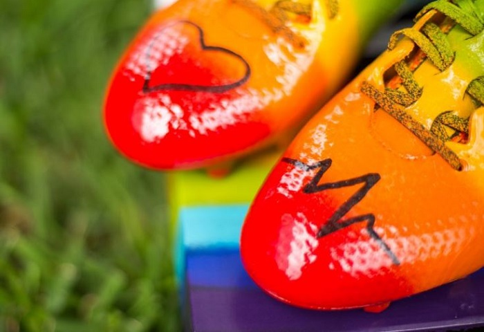 Brek Shea Orlando Strong Boots Detailing