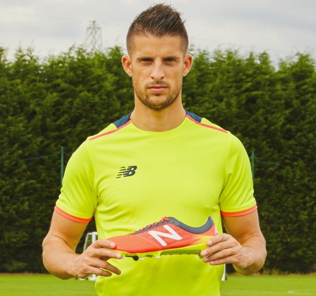 Kevin Mirallas and New Balance