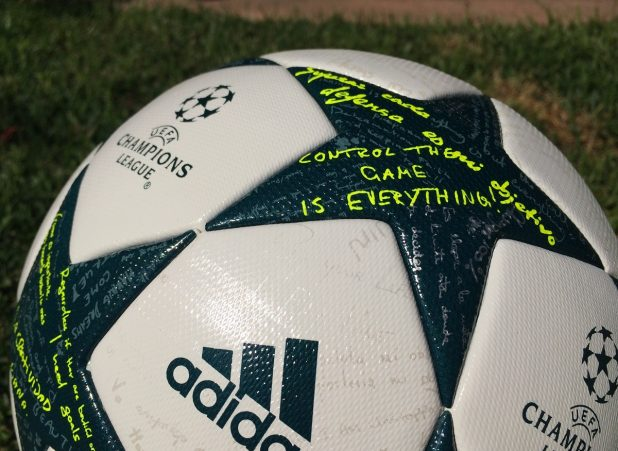 adidas Finale 1617 Control The Game Is Everything