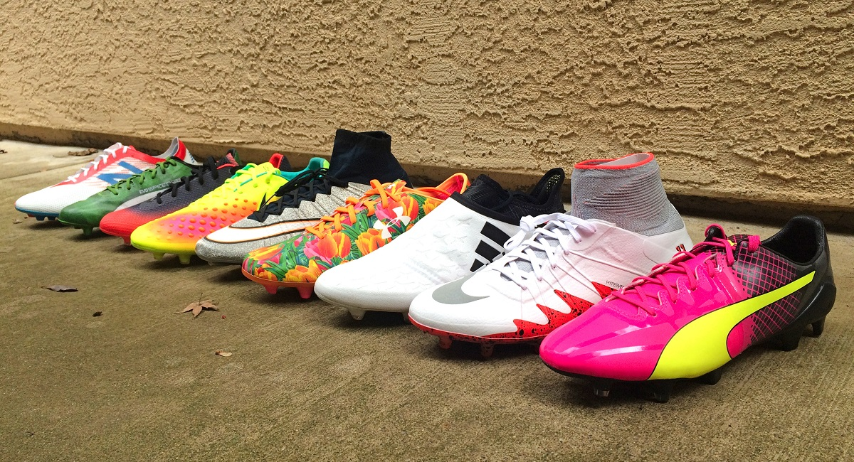 Why Are Soccer Boots So Colorful?