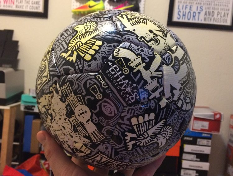 Azteca Soccer Ball from Chaos Soccer