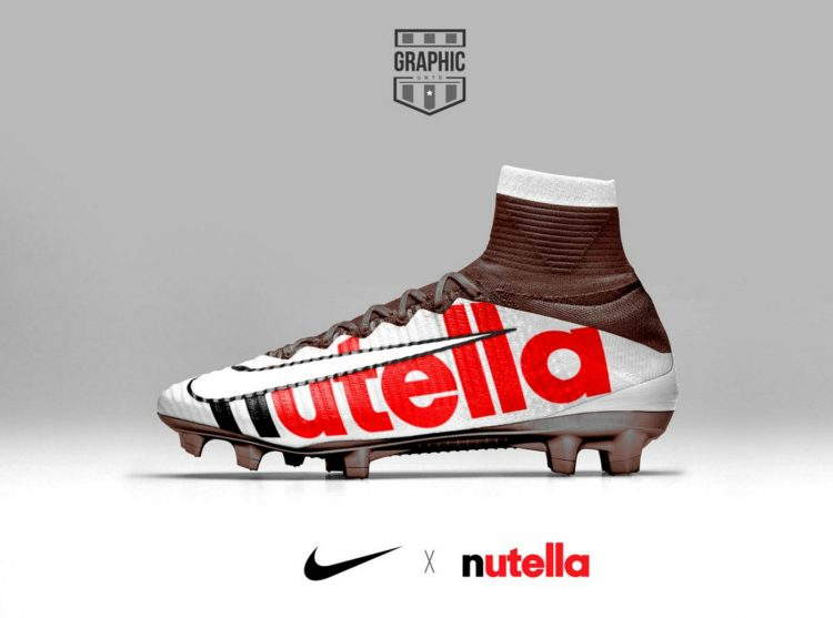 Nike Mercurial Nutella