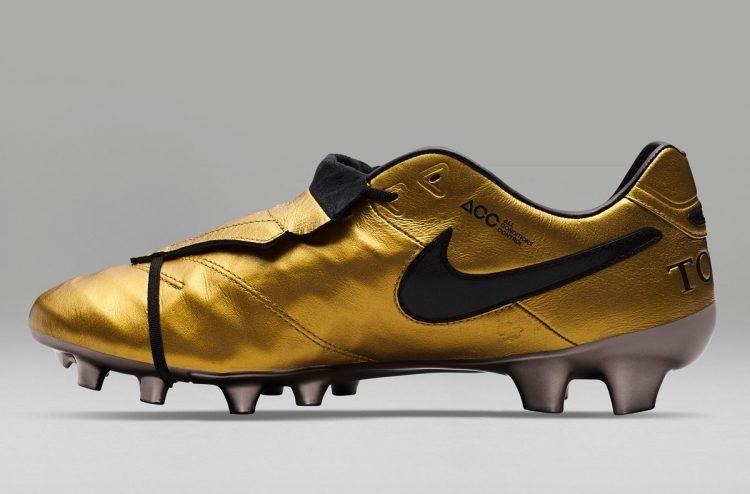 Gold Nike Tiempo Legend Totti Roma