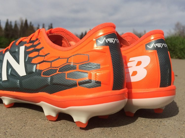 New Balance Visaro Heel Design