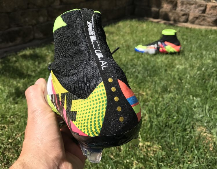 Nike What The Mercurial Superfly Heel Detailing