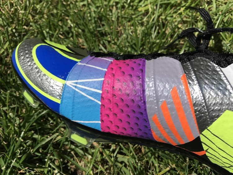 What The Mercurial Instep Detailing