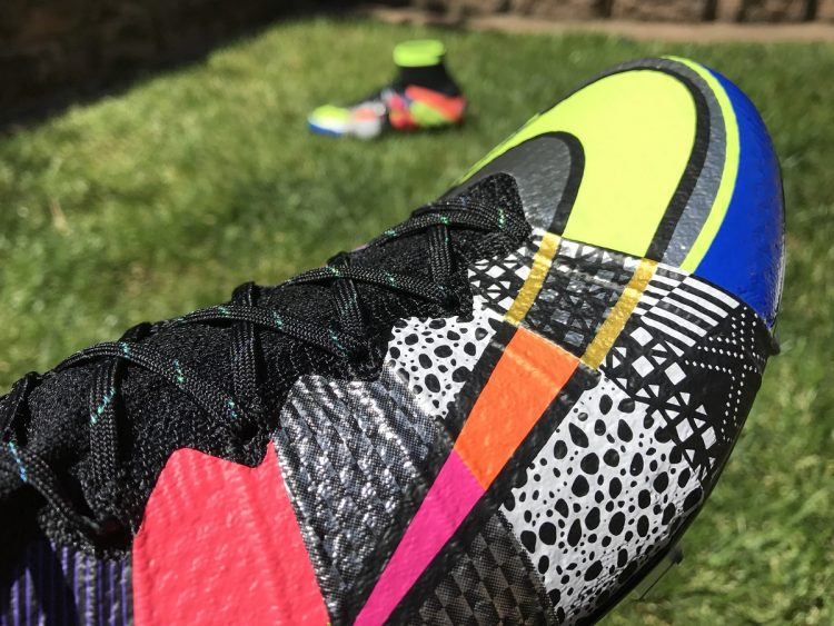 What The mercurial Superfly Up Close
