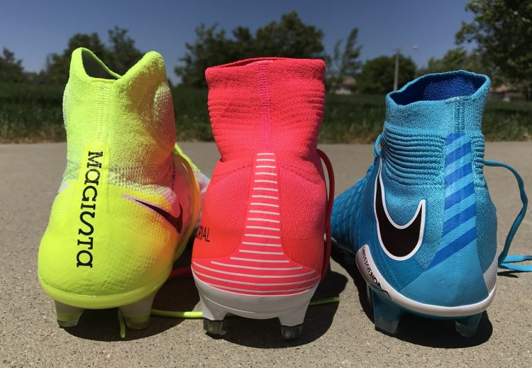 Nike Soccer Cleats with Mid Cup Collars