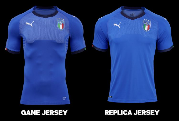 Italy 2018 Home Kit Game and Replica