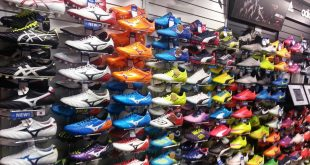 Soccer Boot Wall in Japan