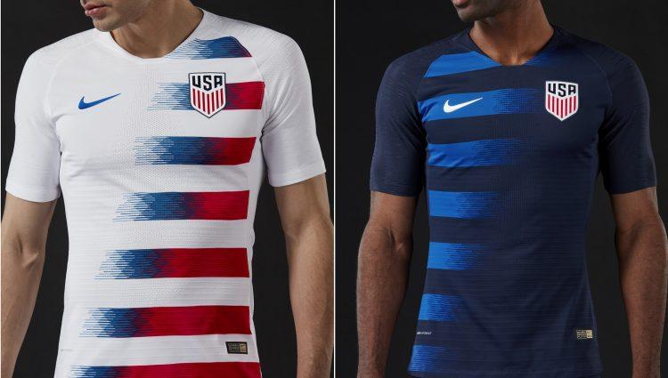 USA Home and Away Kits 2018