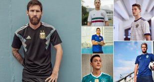 adidas World Cup Away Kits 2018