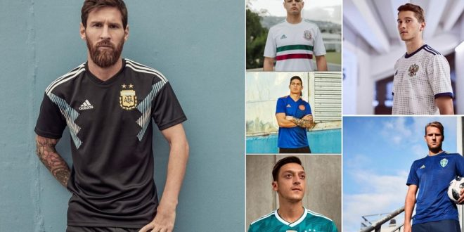 adidas World Cup Away Kits 2018