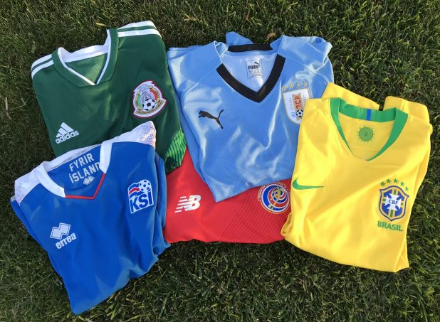 World Cup 2018 Soccer Jerseys