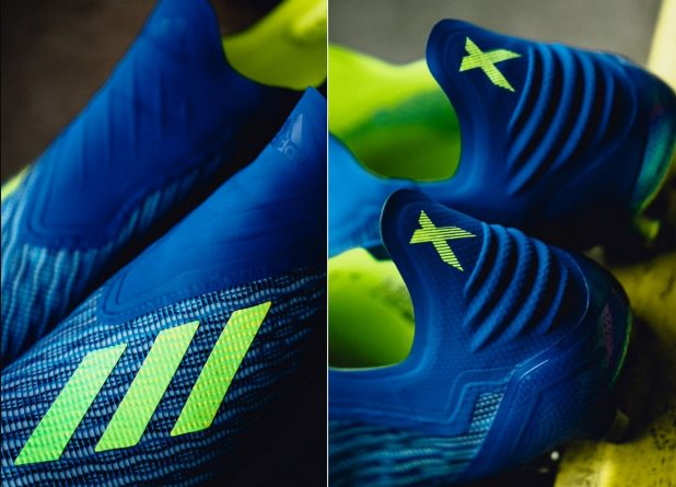 adidas X18+ Detailing