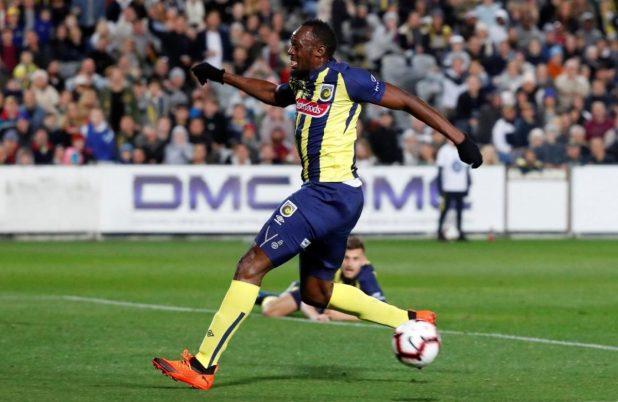 Usain Bolt Soccer Debut