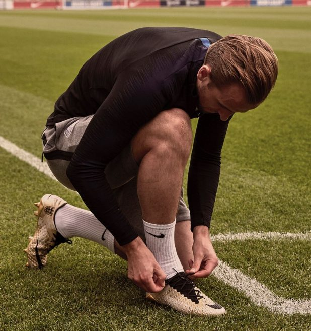 Harry Kane in Golden Boots