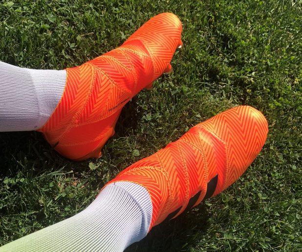 adidas Nemeziz 18+ On Foot