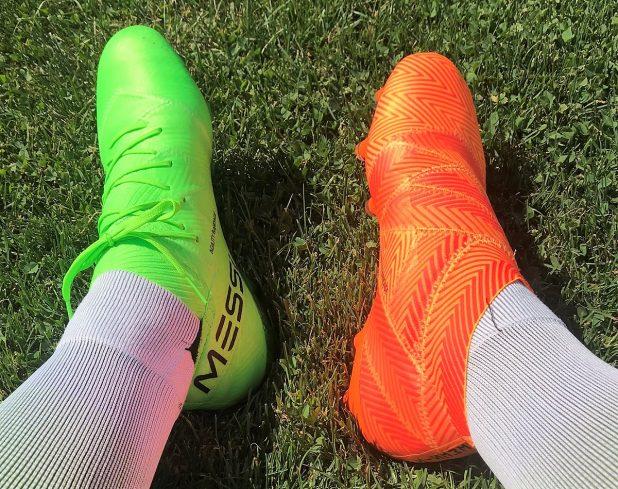 adidas Nemeziz 18+ vs Nemeziz 18.1