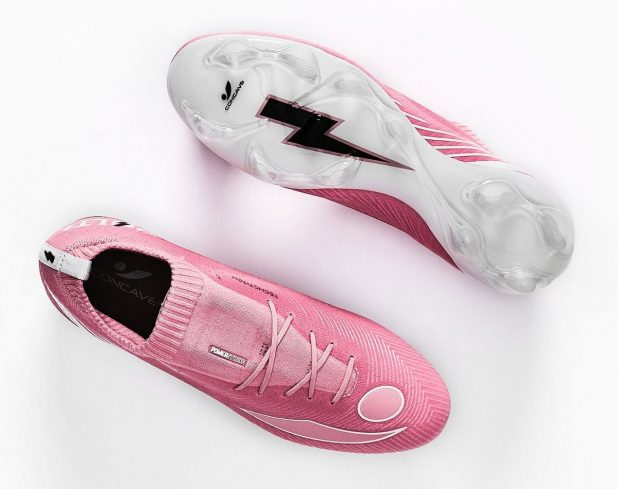 Think Pink Convace Volt Knit Boots