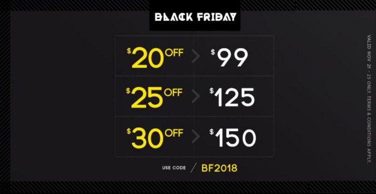 WSS Black Friday 2018