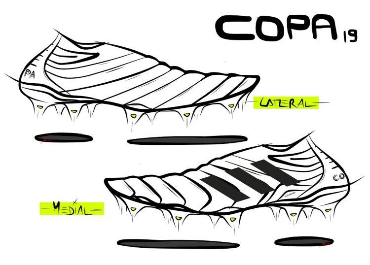 adidas COPA 19 Sketch